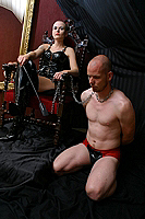 Domina and Slave Gallery